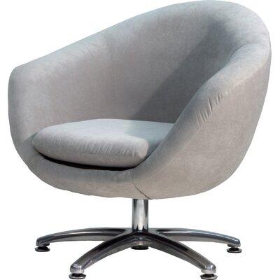 Overman Five Prong Base Comet Barrel Chair Color: Light Tan