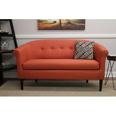Reichenbach Settee Upholstery: Mango