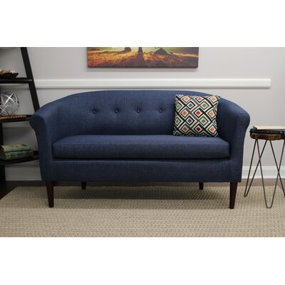 Reichenbach Settee Upholstery: Navy
