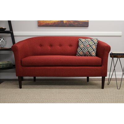 Reichenbach Settee Upholstery: Picante
