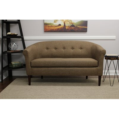 Reichenbach Settee Upholstery: Pecan