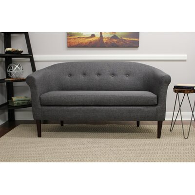 Reichenbach Settee Upholstery: Gray