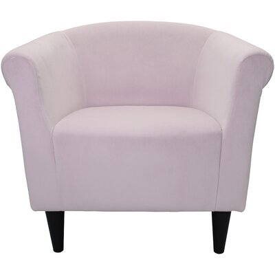 Mthimunye Barrel Chair Upholstery: Blush Pink