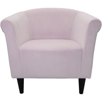 Mthimunye Barrel Chair Upholstery: Blush Pink