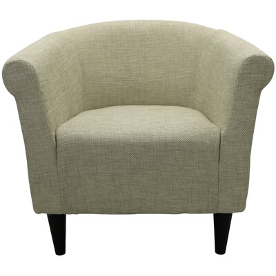 Mthimunye Barrel Chair Upholstery: Beige