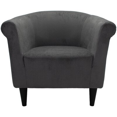 Mthimunye Barrel Chair Upholstery: Gray