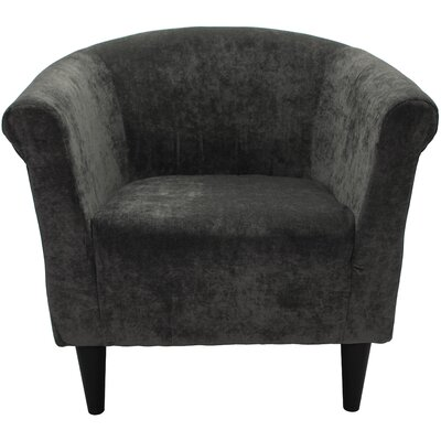 Mthimunye Barrel Chair Upholstery: Greenish Gray