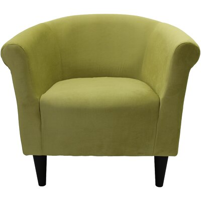 Mthimunye Barrel Chair Upholstery: Green