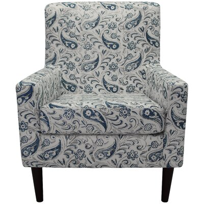 Groesbeck Armchair Upholstery: Paisley Blue