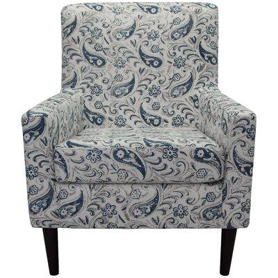Groesbeck Armchair Upholstery: Paisley Blue