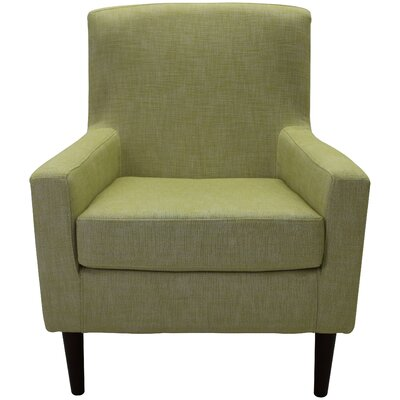 Draco Armchair Upholstery: Light Green