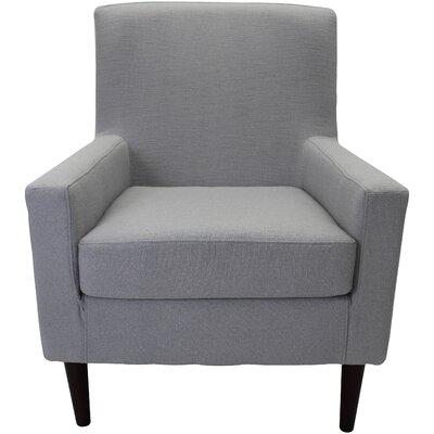 Draco Armchair Upholstery: Gray