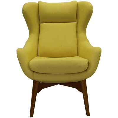 Jeanette Lounge Chair Upholstery: Butter Yellow