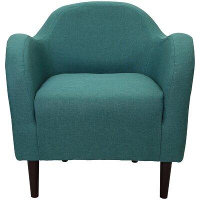 Reider Mid Century Armchair Upholstery: Caribbean Blue