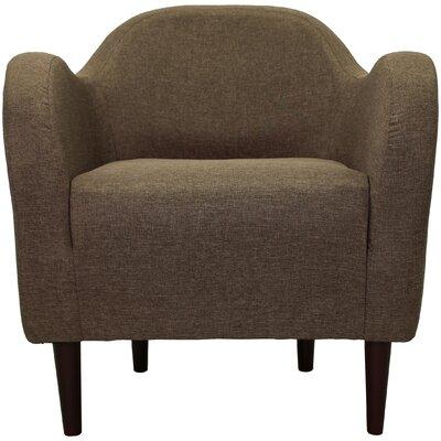 Reider Mid Century Armchair Upholstery: Pecan