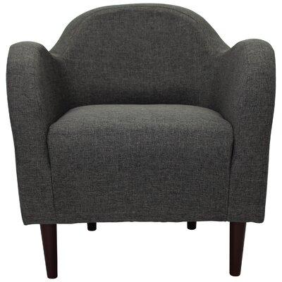 Reider Mid Century Armchair Upholstery: Gray