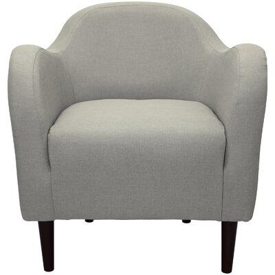 Reider Mid Century Armchair Upholstery: Oatmeal
