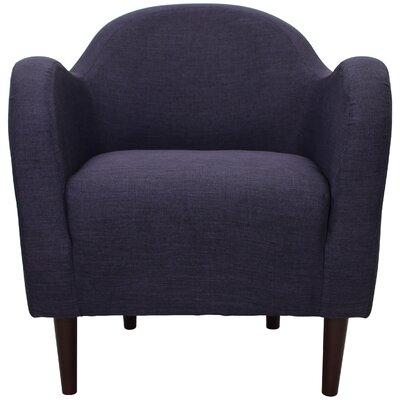 Reider Mid Century Armchair Upholstery: Eggplant
