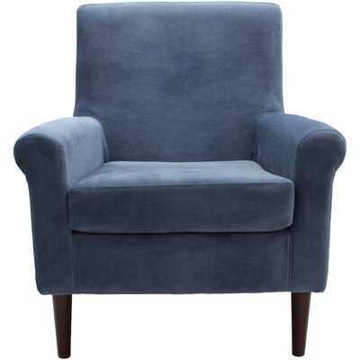 Ponce Upholstery Armchair Upholstery: Navy