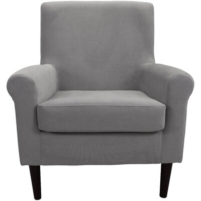 Ponce Upholstery Armchair Upholstery: Gray