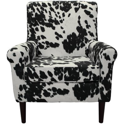 Ponce Armchair Upholstery: Black