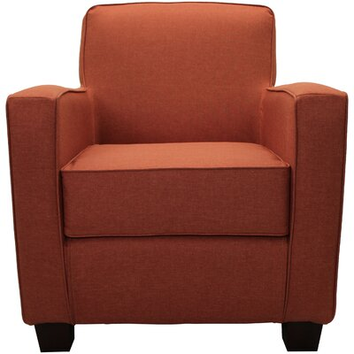 Ramsay Contemporary  Armchair Upholstery: Mango