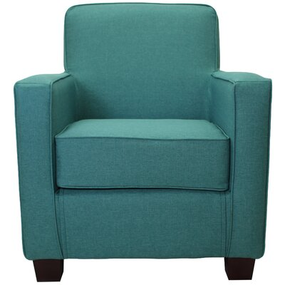 Ramsay Contemporary  Armchair Upholstery: Caribbean Blue