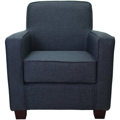 Ramsay Contemporary  Armchair Upholstery: Navy