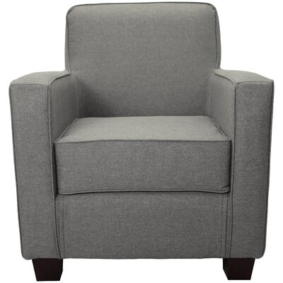 Ramsay Contemporary  Armchair Upholstery: Quartz