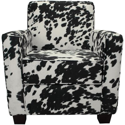 Ramsay Armchair Upholstery: Black