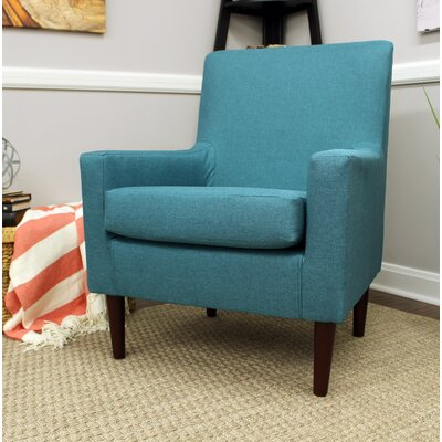 Donham Armchair Upholstery: Teal