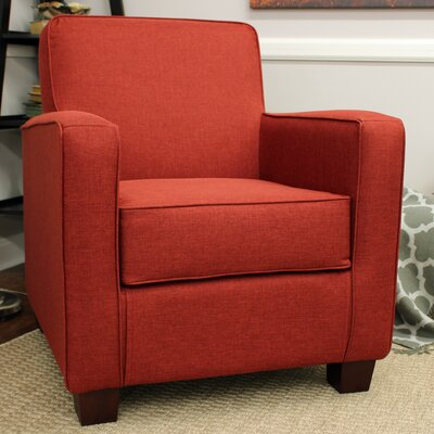 Ramsay Contemporary  Armchair Upholstery: Picante