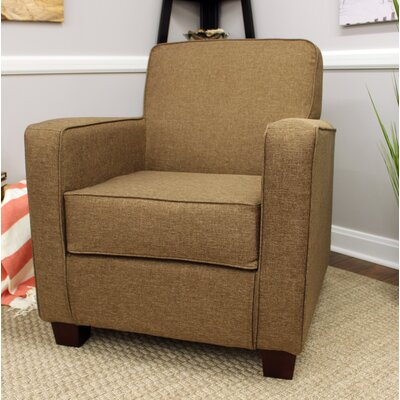Ramsay Contemporary  Armchair Upholstery: Pecan