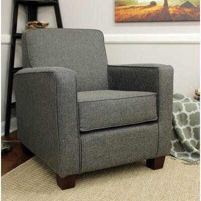 Ramsay Contemporary  Armchair Upholstery: Gray