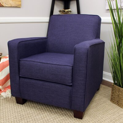 Ramsay Contemporary  Armchair Upholstery: Eggplant