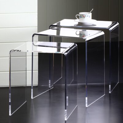 Pure D�cor 3 Piece Nesting Tables