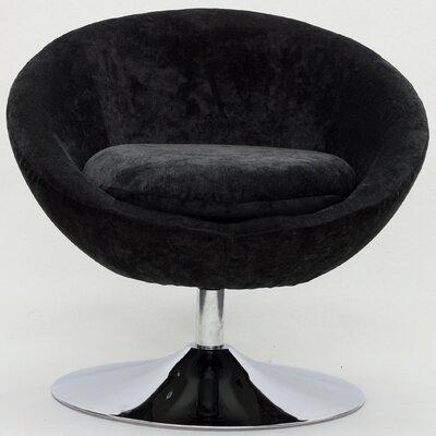 Overman Disc Base Astro Barrel Chair Color: Dark Gray