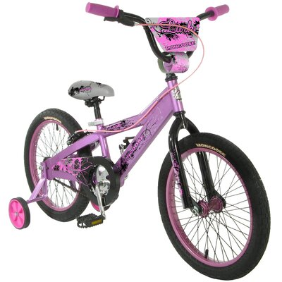 Mongoose Girls Lark BMX Bike With Training Wheels at Sears.com