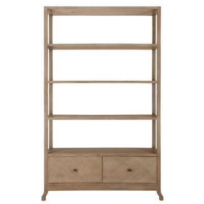 Caprice Etagere 80'' Bookcase Finish: Porcini Product Image 178