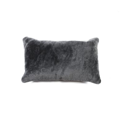 Siemering Indoor Leather Lumbar Pillow