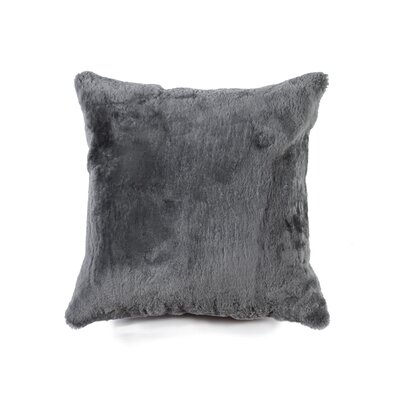 Siemering Indoor  Leather Throw Pillow