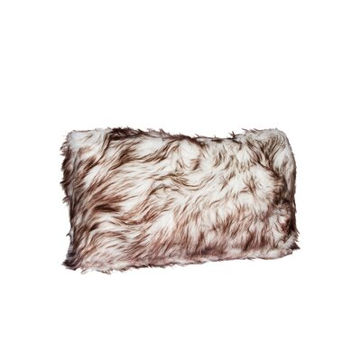 Swampscott Faux Fur Lumbar Pillow