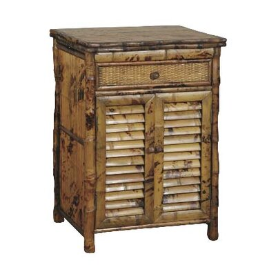 Timeless 1 Drawer Nightstand Color: Antique Tortoise