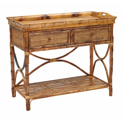 Timeless English Serving Console Table