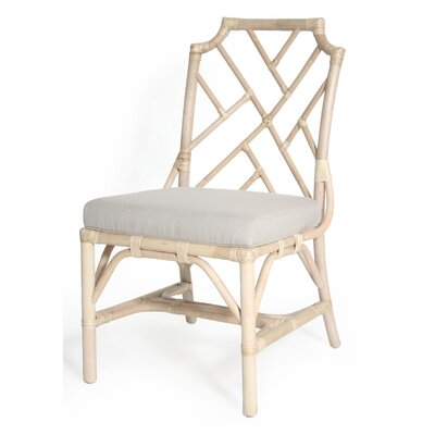 New Classics Chippendale Side Chair Finish: Linen