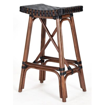 New Classics Malibu 26.2 Bar Stool Finish: Cocoa