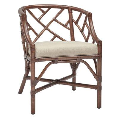 New Classics Barrel Chair Finish: Mahogany