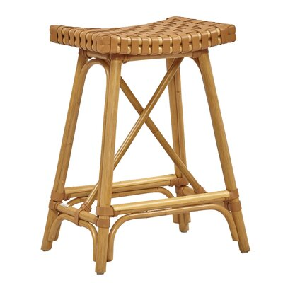 New Classics Malibu 26.2 Bar Stool Finish: Natural