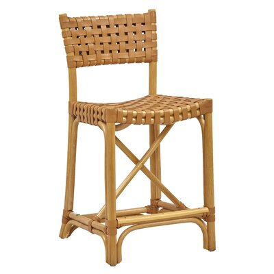 New Classics Malibu 24 Bar Stool Finish: Natural
