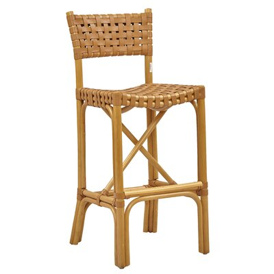 New Classics Malibu 30 Bar Stool Finish: Natural